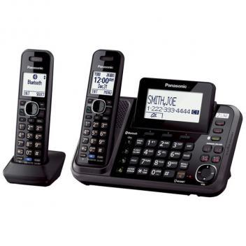 Panasonic KX-TG9542B Link2Cell 2-Line Bluetooth Cordless Handsets
