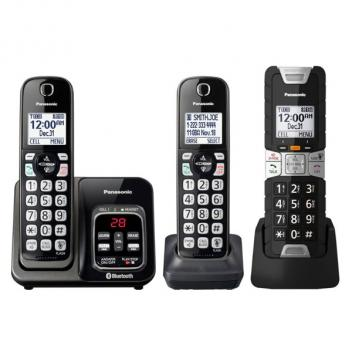 Panasonic KX-TGD583M 3 HS TGD Link 2 Cell Cordless Phones