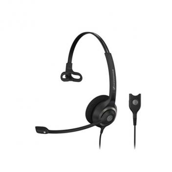 Circle 1 Ear Headset Wideband Single-Sided Headset with Ed