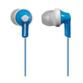 Panasonic In-Ear Blue Headphones for iPhone/Android/ Blackberry