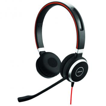 Jabra Evolve 40 Duo/Stereo UC USB Corded Headset