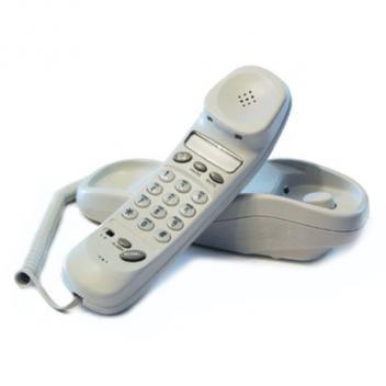 Cortelco Memory Trendline FROST Telephone