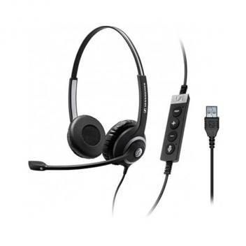 Sennheiser SC260 USB CTRL II Noise Cancelling Duo Wideband headset