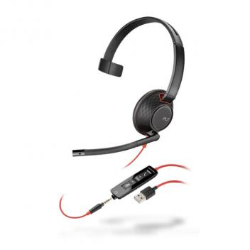 Plantronics Blackwire 5210 USB-A Monaural Corded Headset