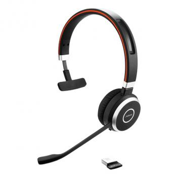 Jabra Evolve 65 Mono Bluetooth Wireless Headset - Microsoft Lync