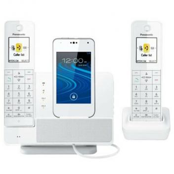 Panasonic KX-PRD262W Link2Cell Dock Style Cordless Handsets