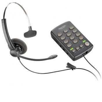 Plantronics T110H, TELEPHONE With AdapterA10-110 Corded Headset