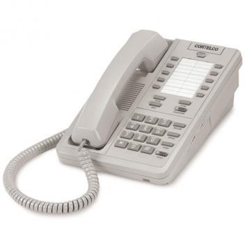 Cortelco Patriot Telephone - Pearl Gray