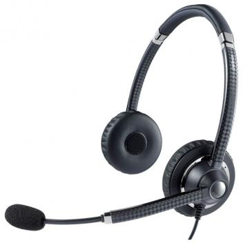 Jabra UC Voice 750 Duo Dark Corded Headset