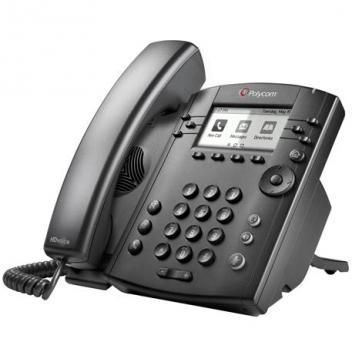 Polycom VVX 311 6-Line IP Phone Gigabit PoE