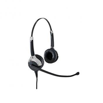 VXI UC ProSet 21P DC Over-the-head Binaural Headset with DC N/C Microphone - Box