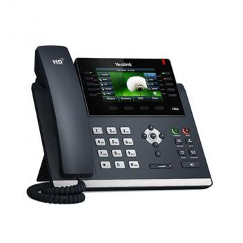 Yealink YEA-100-046-003 SIP-T46S-SFB- HD IP Corded Phone