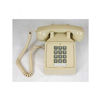 Cortelco Single Line Desk Telephone - Ash