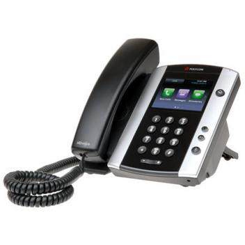 Polycom VVX 501 12-Line IP Phone w/ Touchscreen (Out of Stock)