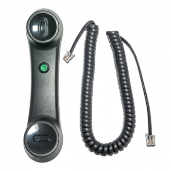 Avaya 9400/9500/9600 Series Push-To-Talk Handset w/9Ft Curly Cord