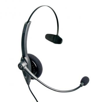 VXI Passport 10G Over-the-head Mono Headset with N/C Microphone - Bulk