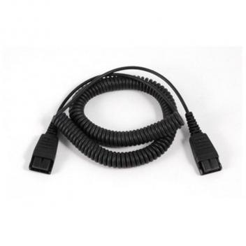 Jabra QD to RJ-9 Replacement Coiled Cord for Link 850