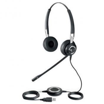 Jabra BIZ 2400 II Duo Noise Canceling USB Corded Headset