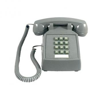 Cortelco Desk Phone with Volume SLATE