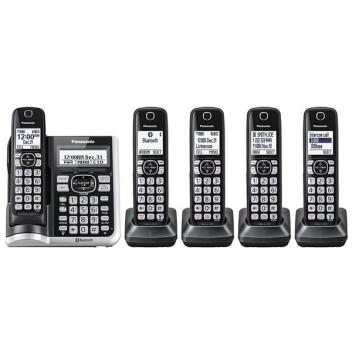 Panasonic KX-TGF575S DECT 6.0 Link2Cell Cordless Handsets - 5HS