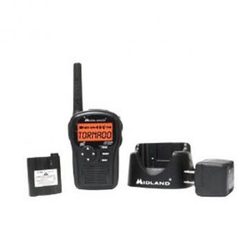 Midland Radio SAME hand held radio w/accessories