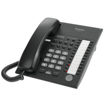 Panasonic KX-T7720-B 24 Button Speakerphone Telephone - Black