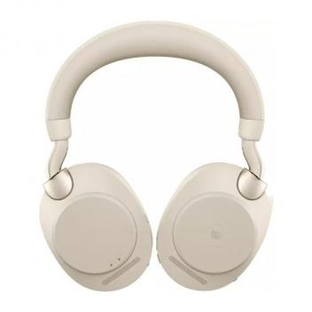 Jabra Evolve2 85 Link 380A MS Stereo Wireless Headset - Beige