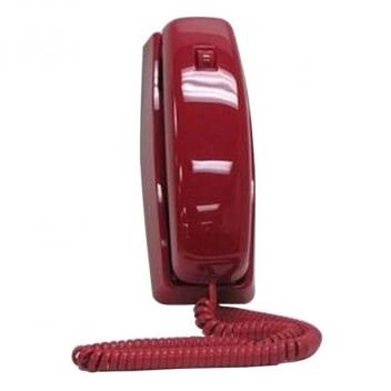 Cortelco Trendline Corded Telephone - RED