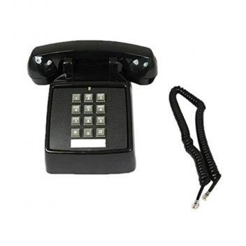 Cortelco ValueLine Desk Telephone - Black