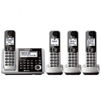 Panasonic KX-TGF374S 1-Line Link2Cell 4 Cordless Handsets