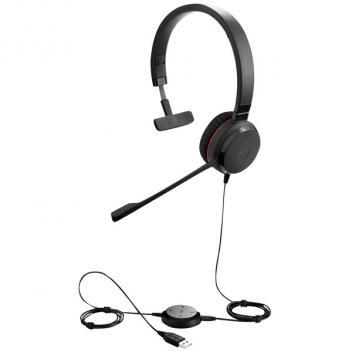 Jabra Evolve 20 Mono Corded Headset Microsoft Lync/OC
