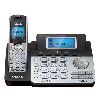 Vtech VT-DS6151 DECT 6.0 2-Line Expandable Cordless Phone