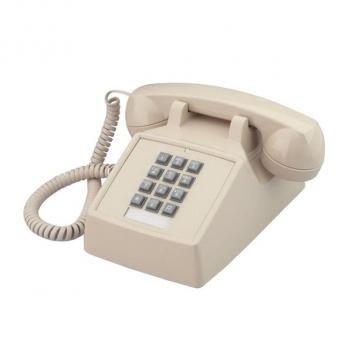 Cortelco Desk Corded Telephone with Flash - Ash