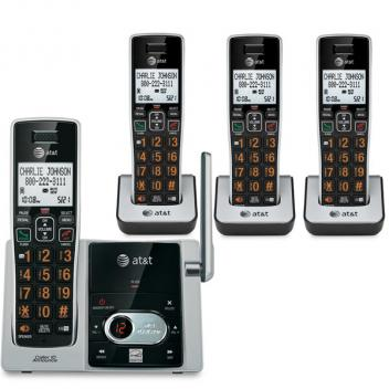 AT&T 4 Handset Answering System CID