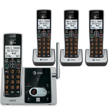 AT&T 4 Handset Answering System CID