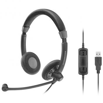 Sennheiser SC70 USB Control Dual-Sided Wideband UC Wired Headset