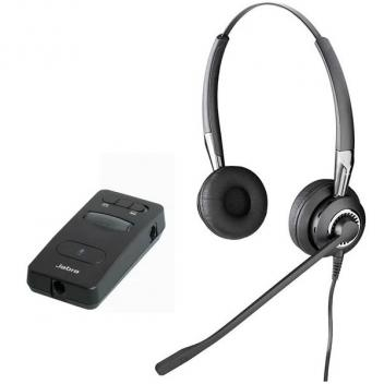 Jabra BIZ 2425 Duo with LINK 850 Amp