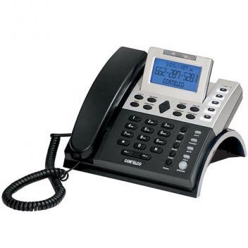 Cortelco Single-Line Caller ID Business Telephone