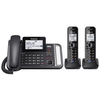 Panasonic KX-TG9582B Expandable Link2Cell Cordless/Corded Phone - 2HS