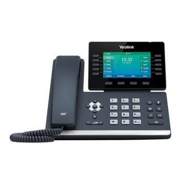 Yealink YEA-SIP-T54W Mid-Level Prime Business Corded Phone