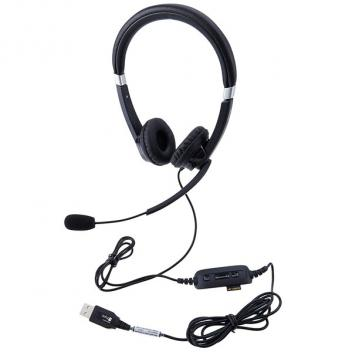 JABRA UC Voice 550 USB Duo, UC Corded Headset