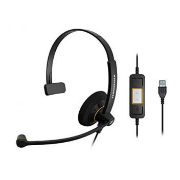Sennheiser SC30 USB ML Mono USB Headset, optimized for use with Microsoft Lync