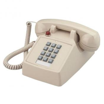 Cortelco Desk Phone with Message Waiting Light - Ash