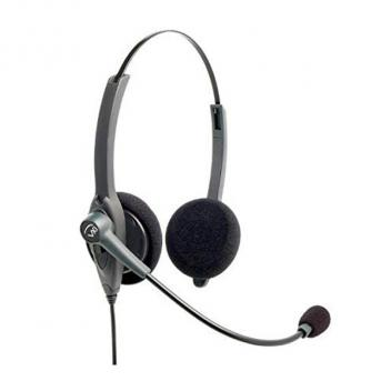 VXI Passport 21G Over-the-head Binaural Headset with N/C Microphone - Box