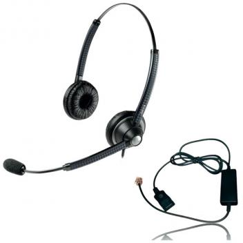 Jabra BIZ 1925 Duo Quick Disconnect Wired Headset