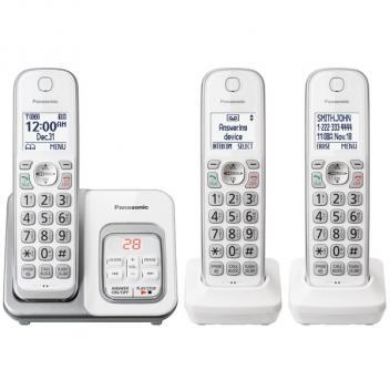 Panasonic KX-TGD533W DECT 6.0 Expandable Cordless Handsets