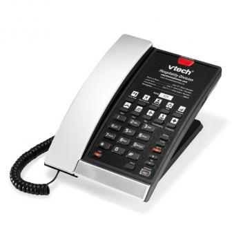 Vtech VTH-S2210-L-SB SIP 1-Line Corded Phone - Silver