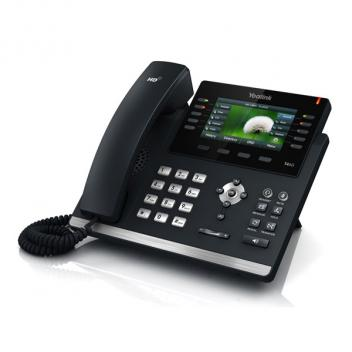 Yealink YEA-SIP-T46S Ultra-Elegant Gigabit Ethernet IP Corded Phone