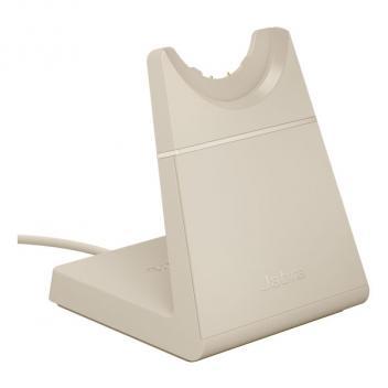 Jabra Evolve2 65 USB-C Desk Stand - Beige