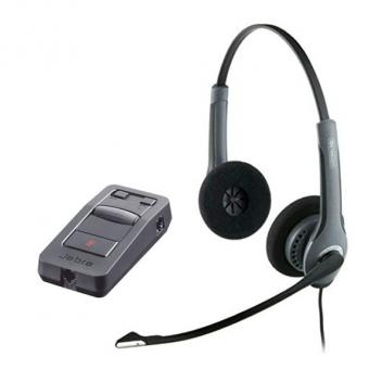 Jabra GN2025 Duo NC Corded Headset with LINK 850 Amp
